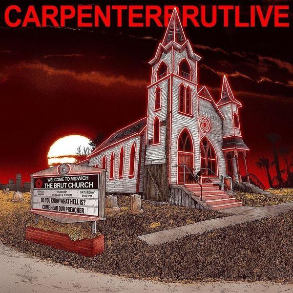Фото - Carpenter Brut Carpenter Brut - Carpenterbrutlive (2 LP) brut