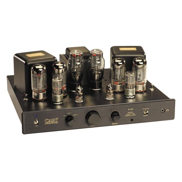 Ламповый стереоусилитель Cary Audio Design SLI 80 Black (уценённый товар) цена и фото