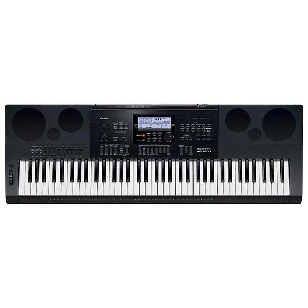 Синтезатор Casio WK-7600 синтезатор casio wk 7600 76 невзвешенная полноразмерные 64 черный
