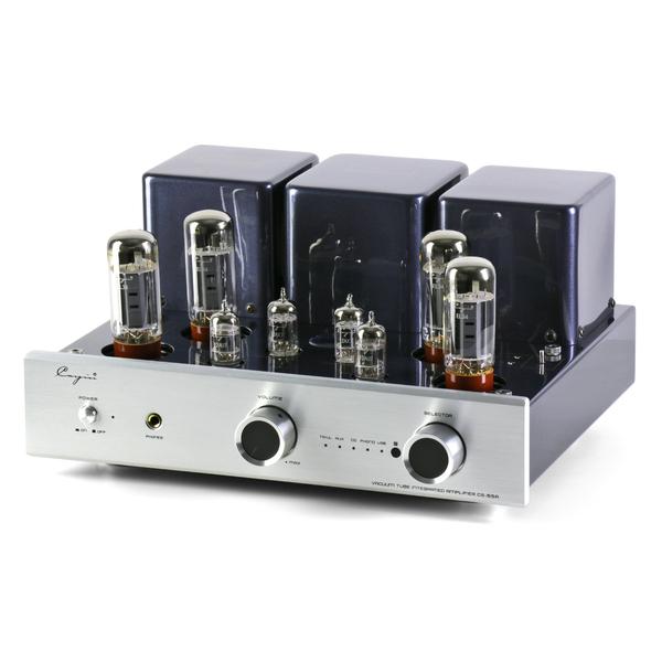 Ламповый стереоусилитель Cayin CS-55A (EL34) Silver 50pcs lot buk9237 55a to 252