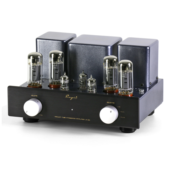 Ламповый стереоусилитель Cayin LA-34 (EL34) Black стереоусилитель мощности cary audio design sa 200 2 black
