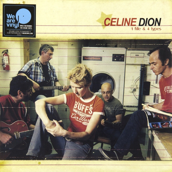 Celine Dion Celine Dion - 1 Fille And 4 Types (180 Gr) celine dion through the eyes of the world