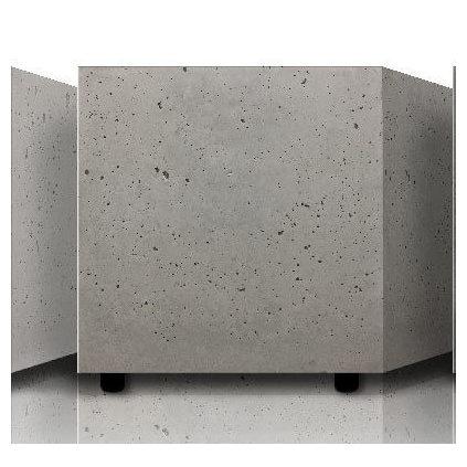 Всепогодная акустика Ceratec Всепогодный сабвуфер HB 800 Concrete Outdoor Grey активный сабвуфер ceratec vita iii white glass steel silver
