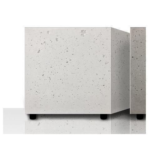 Всепогодная акустика Ceratec Всепогодный сабвуфер HB 800 Concrete Outdoor White активный сабвуфер ceratec vita iii white glass steel silver