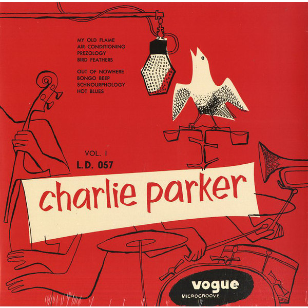 Картинка для Charlie Parker Charlie Parker - Vol. 1 (colour)