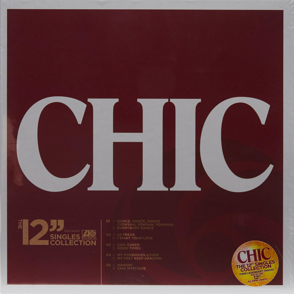 CHIC CHIC - The 12 Singles Collection (5 LP) цена и фото