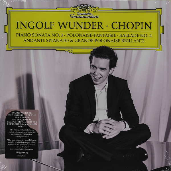 Chopin ChopinIngolf Wunder - : Recital (2 Lp, 180 Gr) beethoven beethovenevgeny kissin recital 3 lp