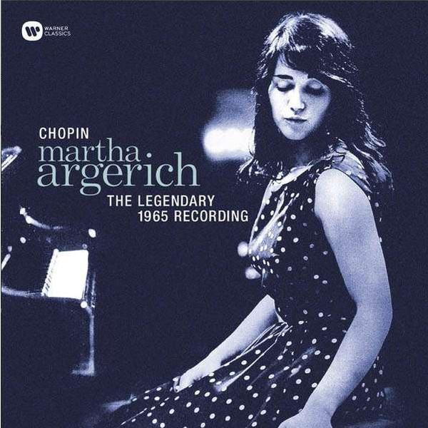 Chopin ChopinMartha Argerich - : The Legendary 1965 Recording chopin chopinmartha argerich piano concertos nos 1 2 lp