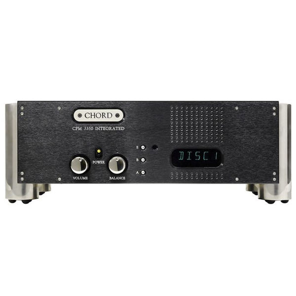 Стереоусилитель Chord Electronics CPM 3350 Black стереоусилитель мощности cary audio design sa 200 2 black