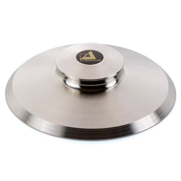 Прижим для виниловых пластинок Clearaudio Quadro Clamp Flat прижим для виниловых пластинок clearaudio outer limit