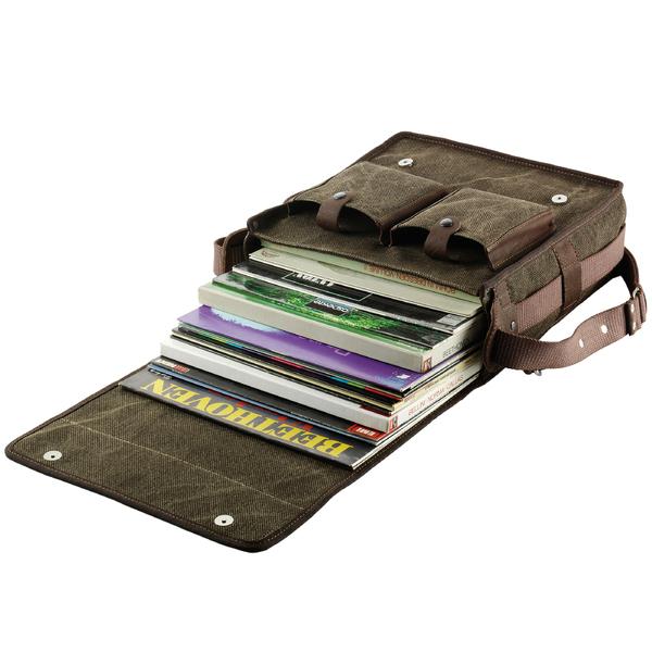 Товар (аксессуар для винила) Clearaudio Сумка для виниловых пластинок Vinyl Travel Bag подставка для виниловых пластинок merkle displaystick black oak