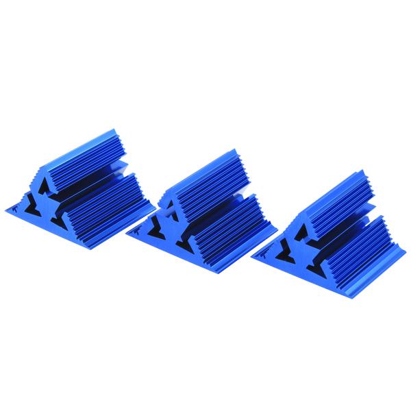 Фрактальный диффузор Cold Ray Fractal 7 Blue (комплект 3 шт.) blue mock neck cold shoulder sweater