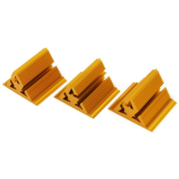 Фрактальный диффузор Cold Ray Fractal 7 Gold (комплект 3 шт.) цена и фото