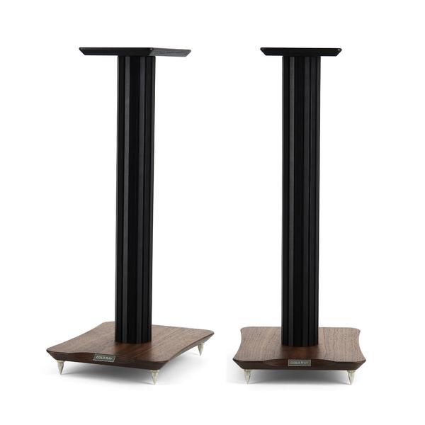 Стойка для акустики Cold Ray S6 Black Tube/Walnut стойка для акустики cold ray s6 sm black tube birch