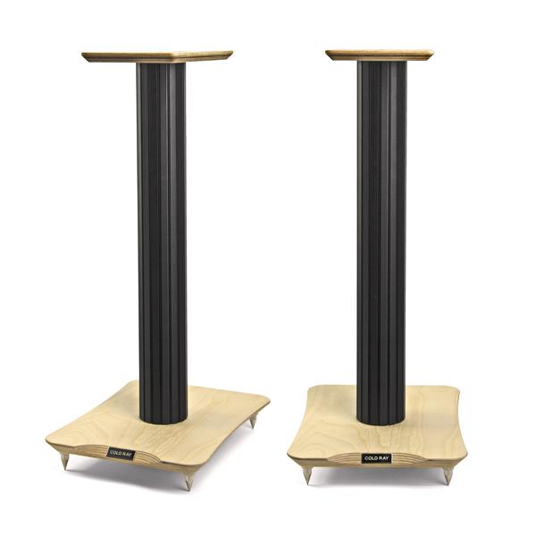 Стойка для акустики Cold Ray S7 Black Tube/Birch стойка для акустики cold ray s6 sm black tube birch