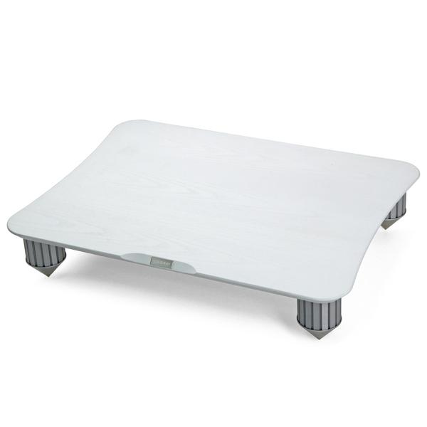 Hi-Fi стойка Cold Ray Single White Ash/Silver Tube цена и фото