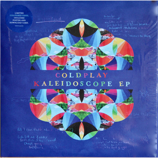 Coldplay Coldplay - Kaleidoscope (ep) каменная рамка printio coldplay