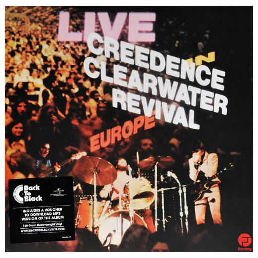 Creedence Clearwater Revival Creedence Clearwater Revival - Live In Europe (2 LP) creedence clearwater revival creedence clearwater revival the complete studio albums 7 lp 180 gr