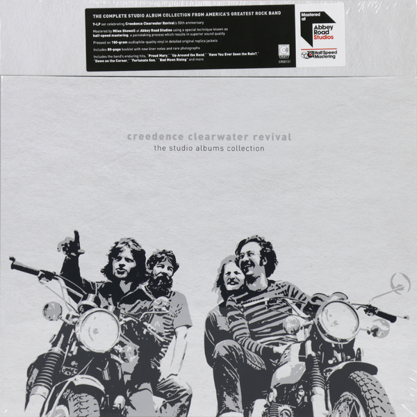 Creedence Clearwater Revival Creedence Clearwater Revival - The Studio Albums Collection (7 LP) creedence clearwater revival creedence clearwater revival the complete studio albums 7 lp 180 gr