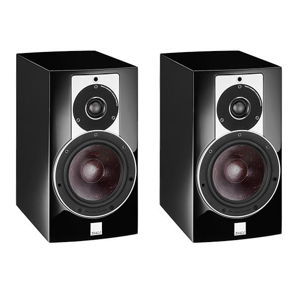 Полочная акустика DALI Rubicon 2 High Gloss Black полочная акустика canton gle 420 2 black