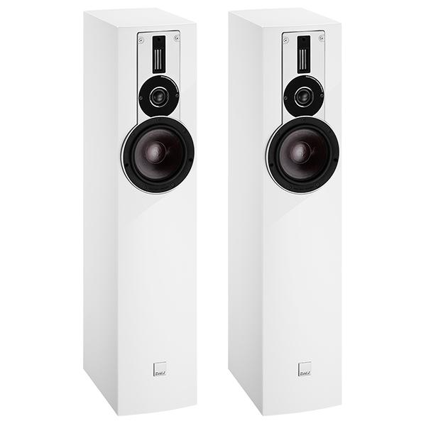 лучшая цена Напольная акустика DALI Rubicon 5 High Gloss White