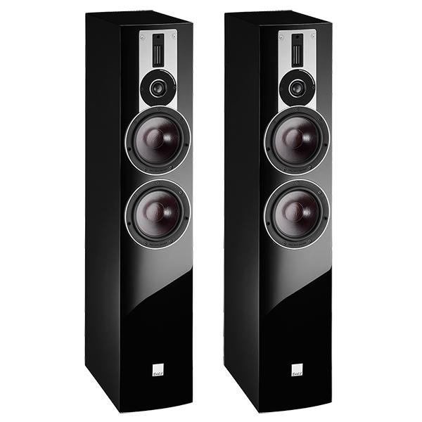 лучшая цена Напольная акустика DALI Rubicon 6 High Gloss Black