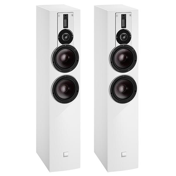лучшая цена Напольная акустика DALI Rubicon 6 High Gloss White