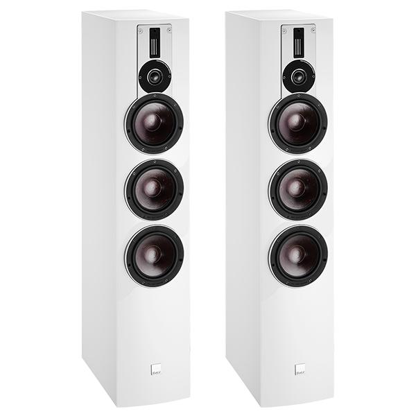 лучшая цена Напольная акустика DALI Rubicon 8 High Gloss White