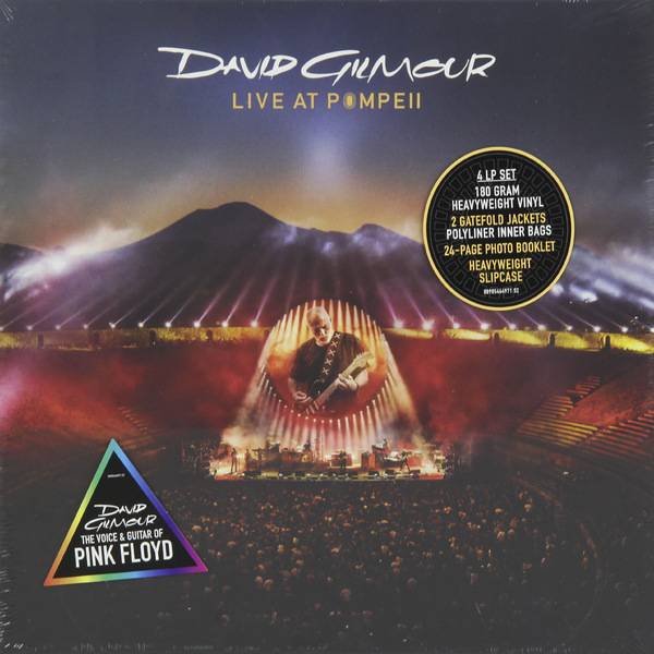 David Gilmour David Gilmour - Live At Pompeii (4 Lp, 180 Gr) blu ray cd david gilmour live at pompeii