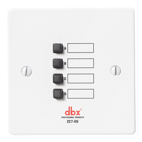 Панель управления dbx ZC-7 все цены