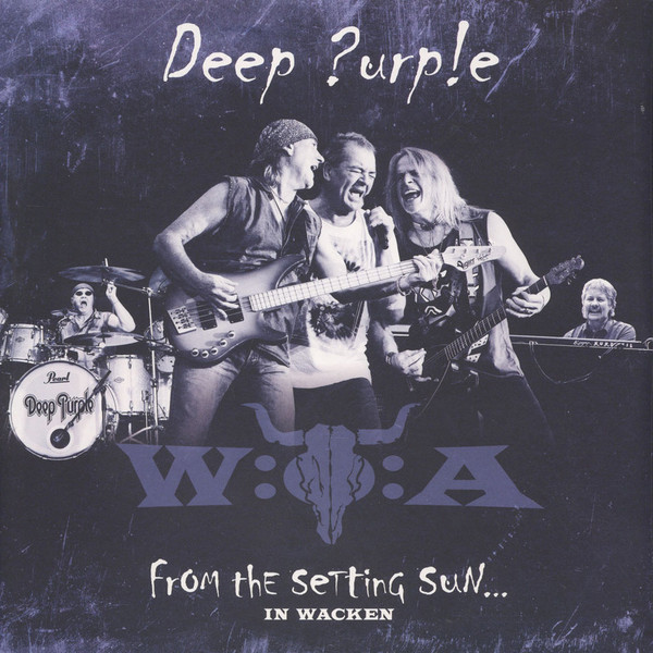 Deep Purple Deep Purple - From The Setting Sun... (in Wacken) (3 LP) deep purple the vinyl collection 7 lp