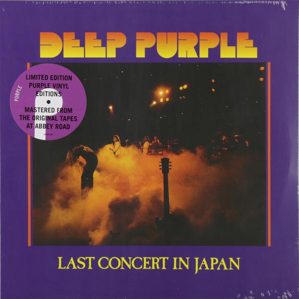 Deep Purple Deep Purple - Last Concert In Japan (colour) цена