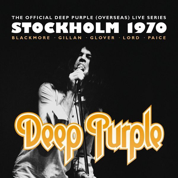 Deep Purple Deep Purple - Stockholm 1970 (3 LP)