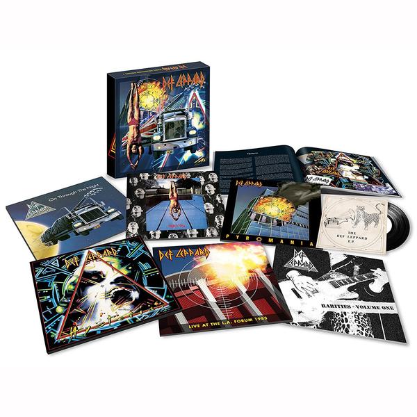 лучшая цена Def Leppard Def Leppard - Vinyl Boxset (8 Lp+7 )