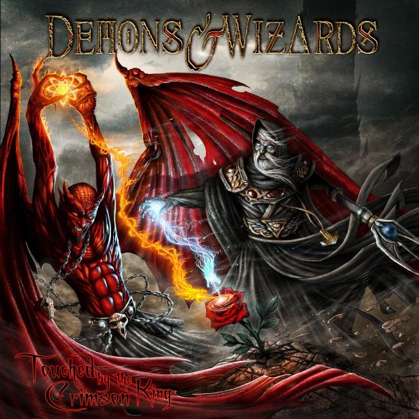 Demons Wizards Demons Wizards - Touched By The Crimson King (2 Lp, 180 Gr) nikolai yakunenkov tale offive wizards