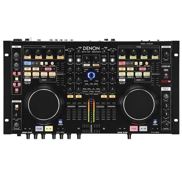DJ контроллер Denon DN-MC6000 микшер усилитель denon dn 333xab