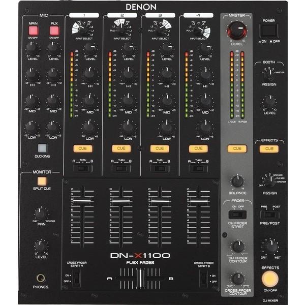 DJ микшерный пульт Denon DN-X1100 микшер усилитель denon dn 333xab