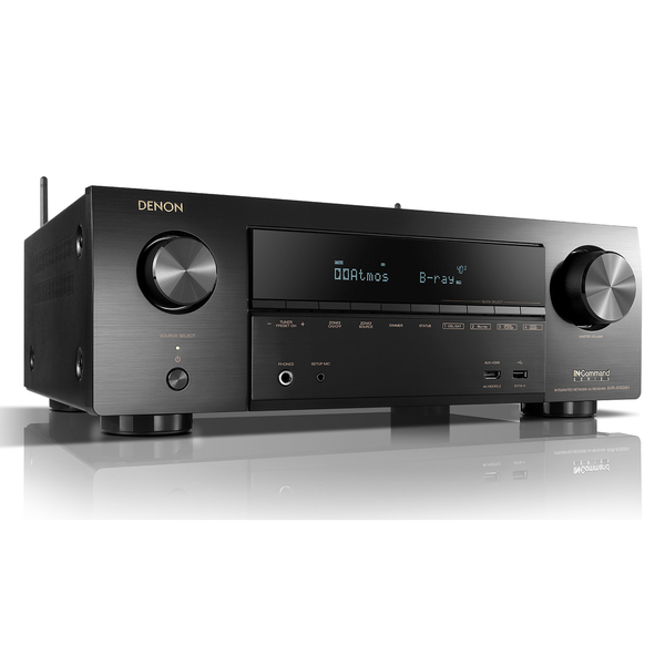 лучшая цена AV ресивер Denon AVR-X1500H Black