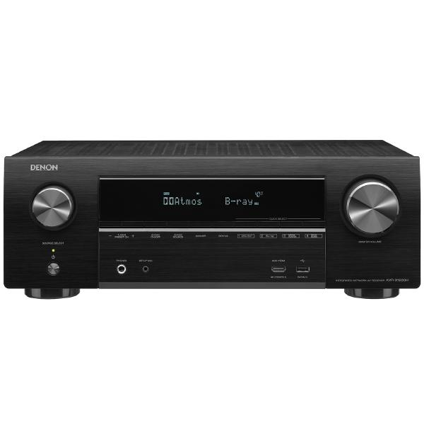 лучшая цена AV ресивер Denon AVR-X1600H Black