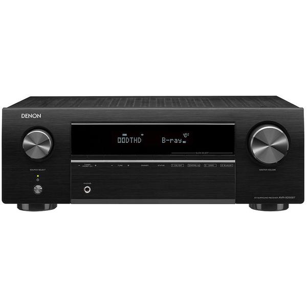 лучшая цена AV ресивер Denon AVR-X250BT Black