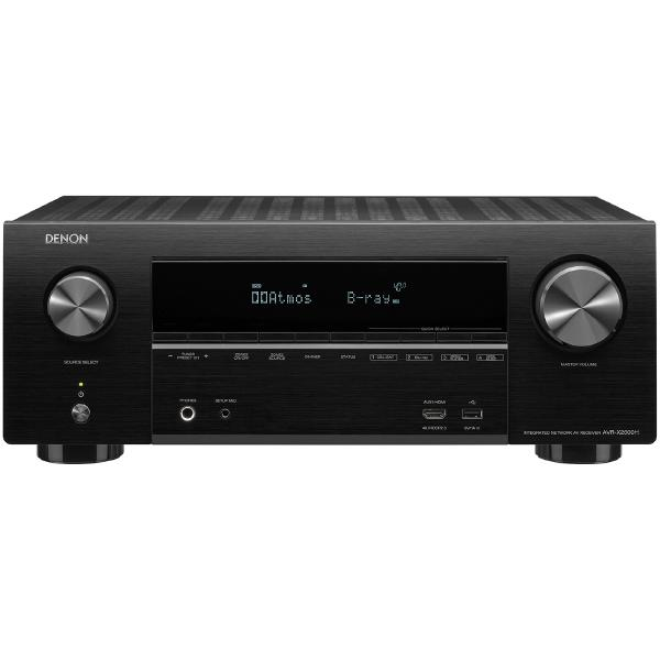 лучшая цена AV ресивер Denon AVR-X2600H Black