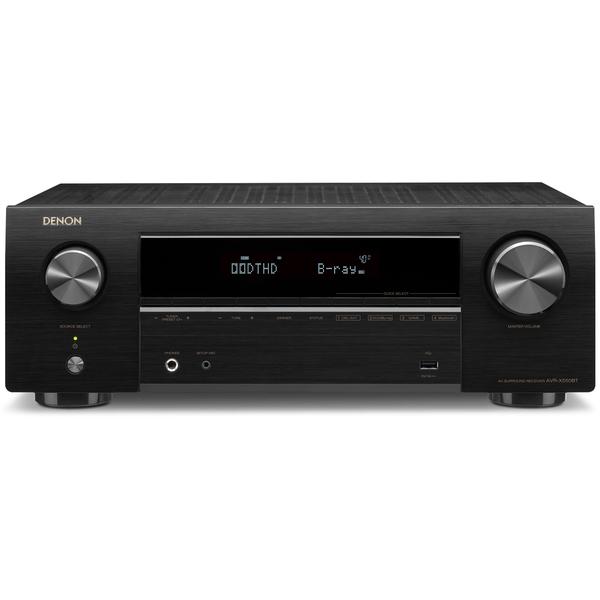 лучшая цена AV ресивер Denon AVR-X550BT Black