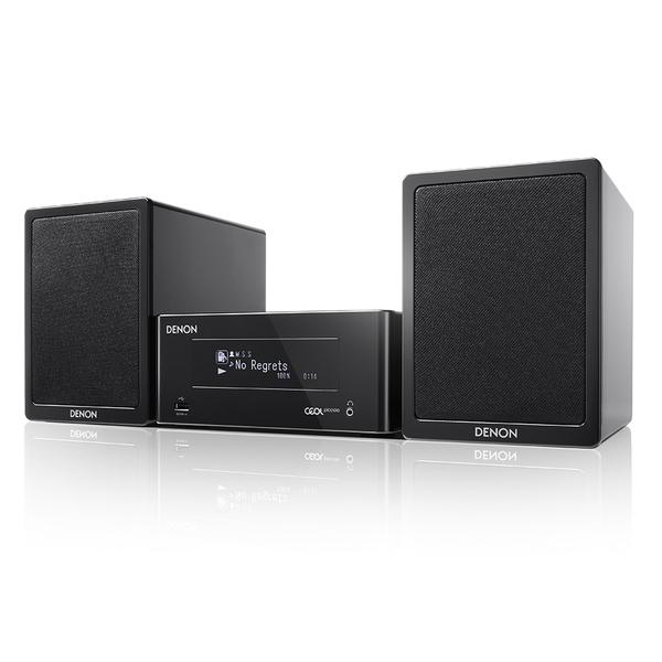Hi-Fi минисистема Denon CEOL Piccolo N4 Black сетевой аудиоплеер denon dra n4 black