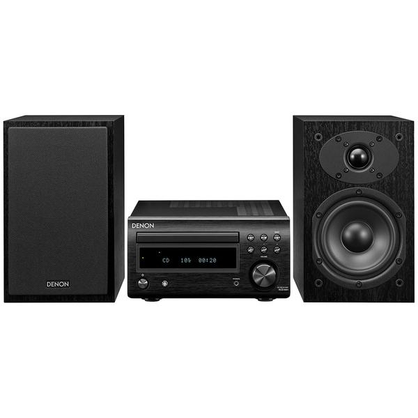 Hi-Fi минисистема Denon D-M41 Black/Black cd ресивер denon rcd m41 silver
