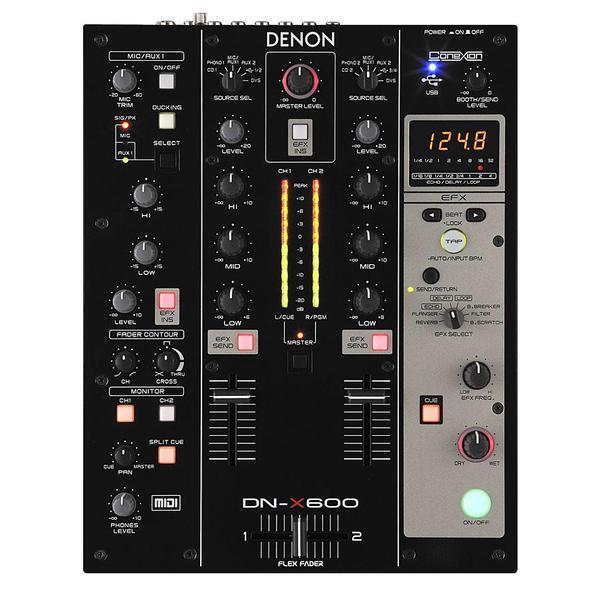 DJ микшерный пульт Denon DN-X600 микшер усилитель denon dn 333xab