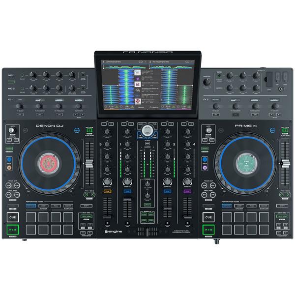 DJ контроллер Denon Prime 4 denon кейс fc6000 b