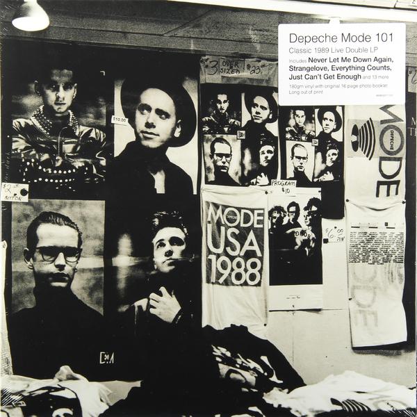 Depeche Mode Depeche Mode - 101 - Live (2 Lp, 180 Gr) depeche mode depeche mode speak and spell 180 gr