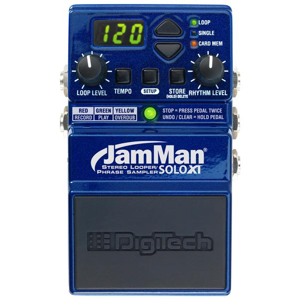 Педаль эффектов Digitech JamMan Solo XT педаль эффектов digitech cabdryvr