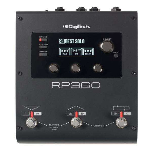 Гитарный процессор Digitech RP360 гитарный процессор digitech bp90