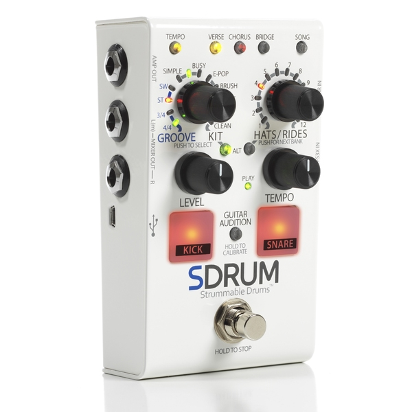 Педаль эффектов Digitech SDRUM цена и фото
